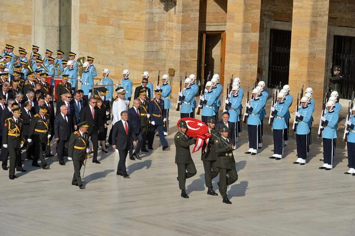 30 Ağustos Zafer Bayramı Anıtkabir Töreni