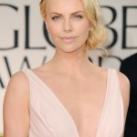 Charlize Theron at Golden Globe Awards